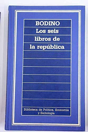 9788476340134: Los seis libros de la república