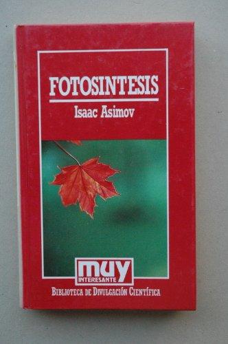 9788476341568: Fotosintesis