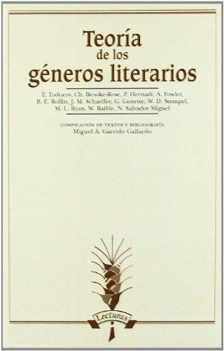 9788476350331: Teoria De Los Generos Literarios (Spanish Edition)