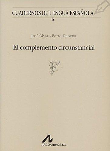 El complemento circunstancial: José Alvaro Porto