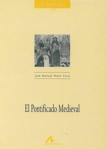 9788476352243: El pontificado medieval (Cuadernos de historia)