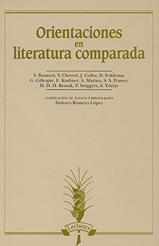 9788476353011: Orientaciones en literatura comparada (Lecturas)