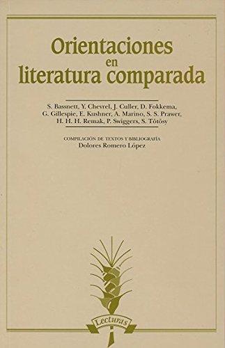 9788476353011: Orientaciones en literatura comparada