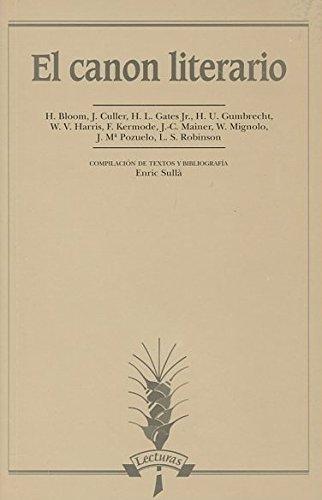 El canon literario (Lecturas): Harold Bloom