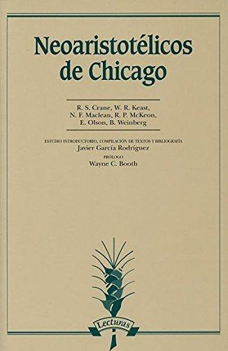 9788476354469: Neoaristotélicos de Chicago (Lecturas)