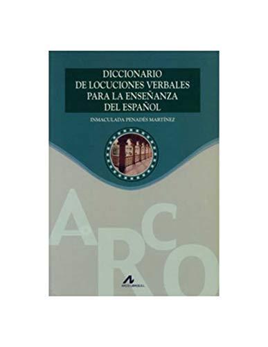 9788476355350: Diccionario de locuciones verbales para la enseñanza del español (Materiales complementarios de español/LE)