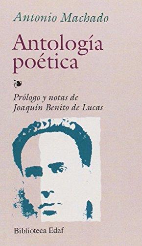 9788476401552: Antologia Poetica-Machado (Biblioteca Edaf)