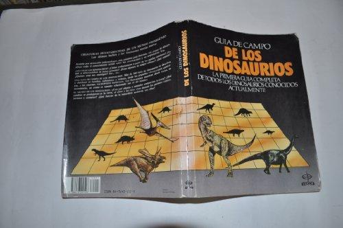 9788476402528: Guia De Campo De Los Dinosaurios
