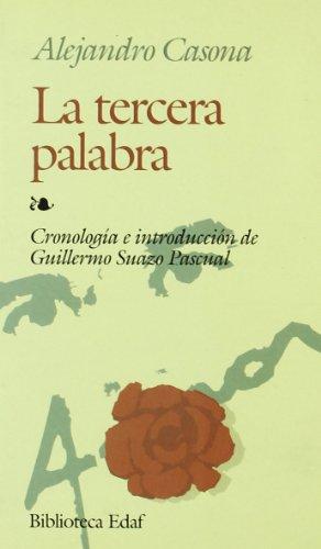 9788476407240: LA Tercera Palabra (Biblioteca Edaf) (Spanish Edition)
