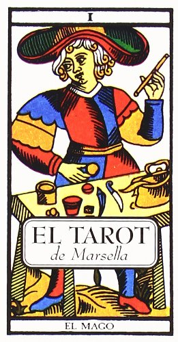 9788476407301: Cartas del Tarot de Marsella y manual explicativo (Tabla de Esmeralda)