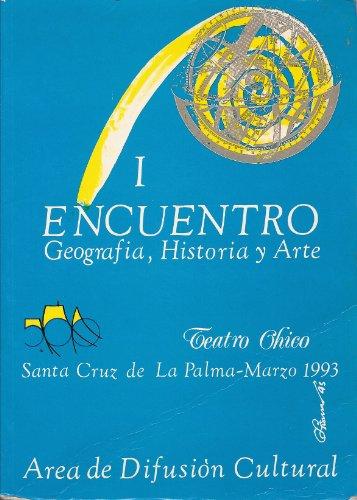 9788476456484: I Encuentro De Geofrafia, Historia Y Arte De La Ciudad De Santa Cruz De La Palma: Area De Arte (Tomo II)