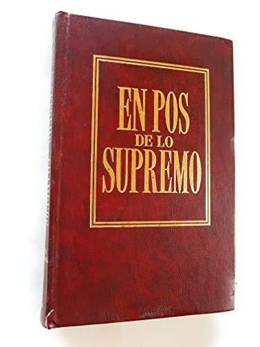 9788476457061: En Pos de Lo Supremo (Spanish Edition)
