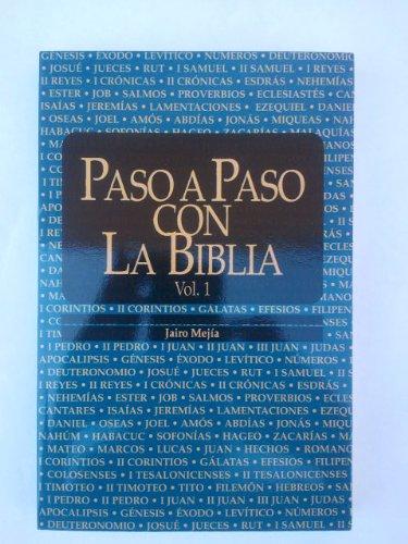 9788476457566: Paso a Paso Con La Biblia Vol. 1