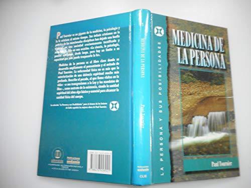 Medicina De La Persona (La Persona y Sus Posibilidades, 1) (8476458924) by Paul Tournier