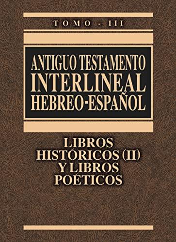 Antiguo Testamento interlineal Hebreo-Español Vol. 3: Libros: Zondervan