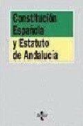 9788476475553: Constitución española ; Estatuto de autonomía de Andalucía (Algaida Universidad)