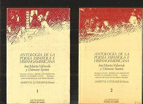 9788476580004: Antologia de la poesia española ehispanoamericana (obra comparada)