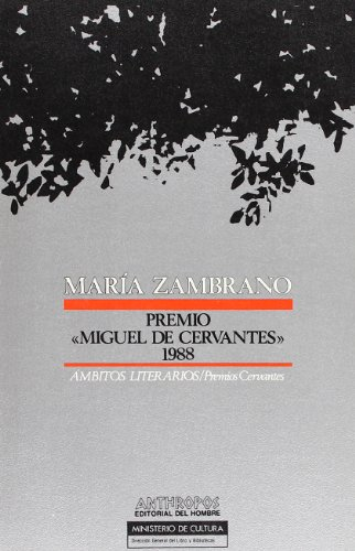 Maria Zambrano: Premio de Literatura en Lengua