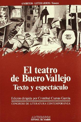 9788476582411: El Teatro De Buero Vallejo (Ámbitos literarios. Ensayo)