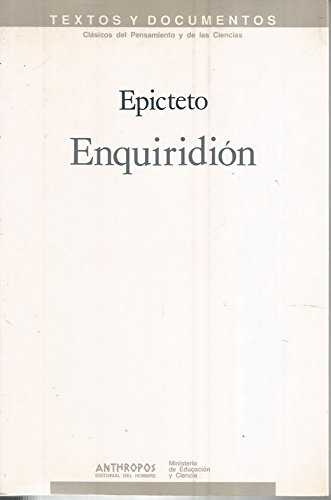 Enquiridión: Manual (Spanish Edition): Epicteto