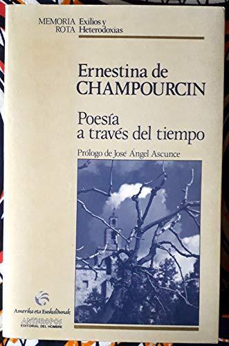 9788476583241: Poesía A Travás Del Tiempo (Memoria rota)