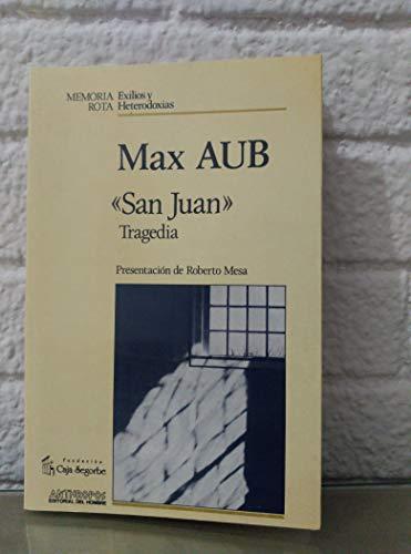9788476583401: San Juan (Memoria rota) (Spanish Edition)