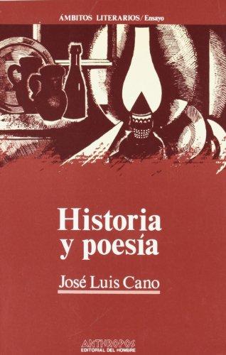 9788476583586: Historia y poesia