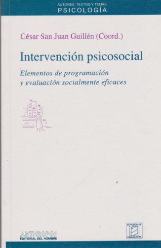 9788476584491: Intervención Psicosocial