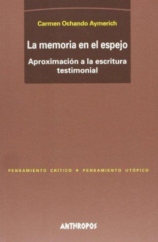 9788476585313: MEMORIA EN EL ESPEJO, LA (Spanish Edition)