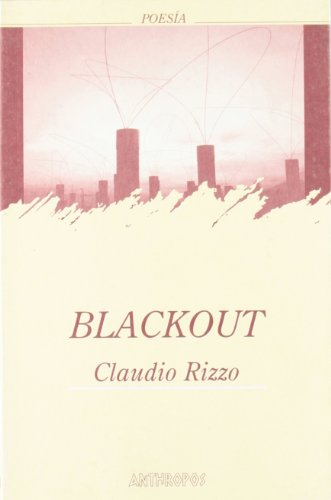 9788476585672: Blackout (Spanish Edition)