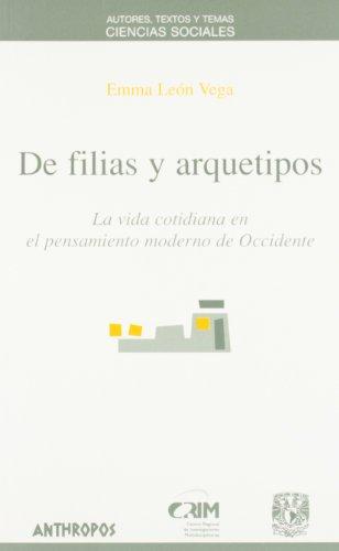 9788476586013: De Filias Y Arquetipos