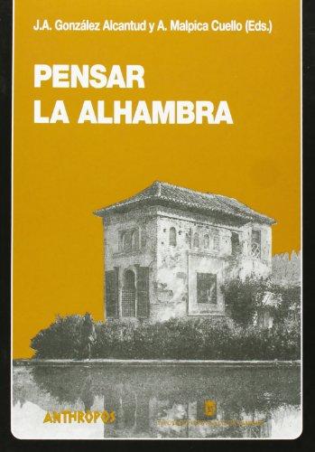 9788476586051: Pensar La Alhambra
