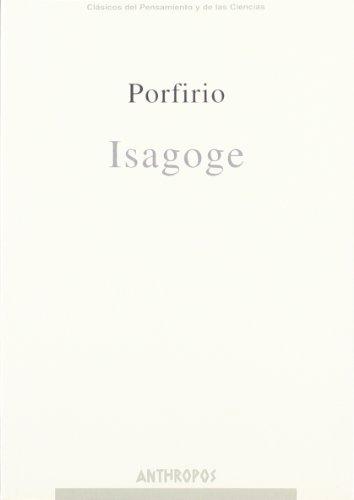 ISAGOGE: PORFIRIO