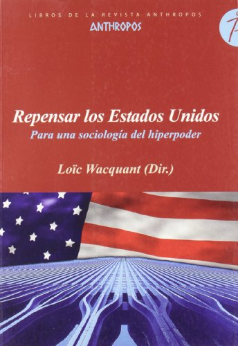 9788476587430: Repensar Los Estados Unidos