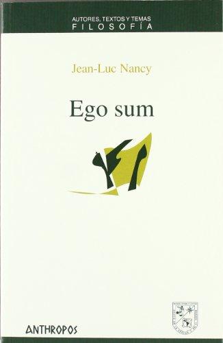 9788476588468: EGO SUM (Spanish Edition)
