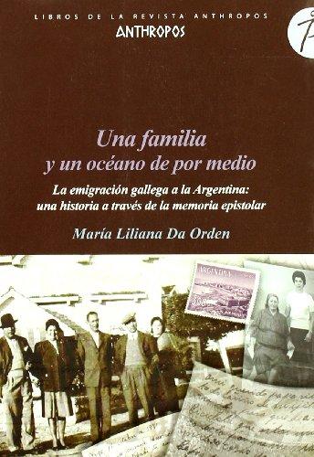 Una familia y un océano de por: da Orden, María