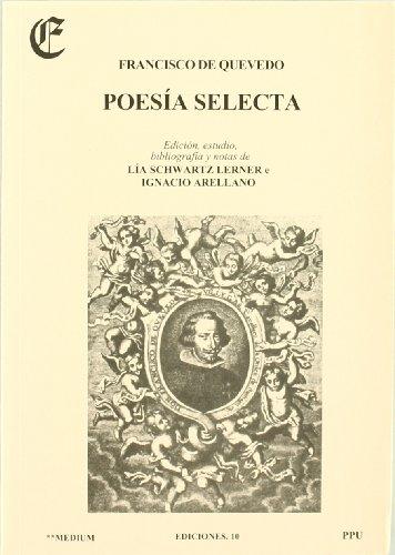 9788476655368: Poesía selecta