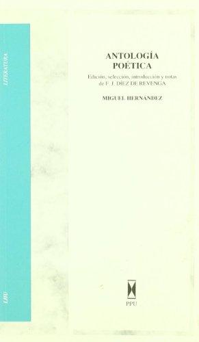 9788476659144: Antología poética