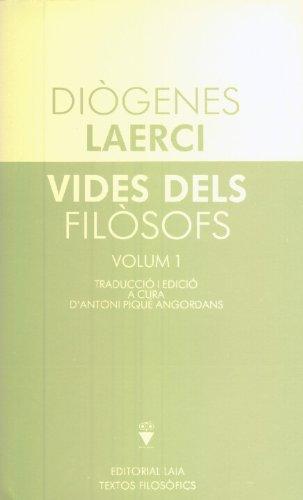9788476682272: Vides dels filòsofs I i II (Textos Filosòfics)