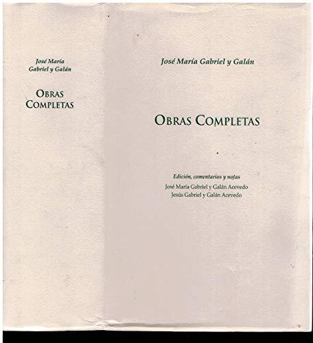 9788476718155: Obras completas