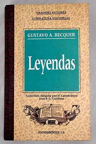 9788476725900: LEYENDAS