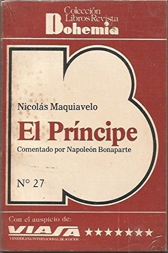 Principe, El: Maquiavelo, Nicolas