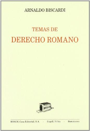 Temas de Derecho romano: Biscardi, A.