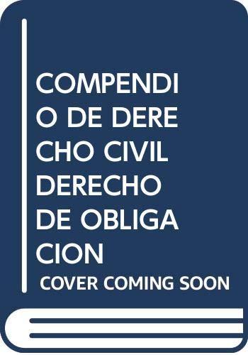 9788476760796: Compendio de Derecho civil