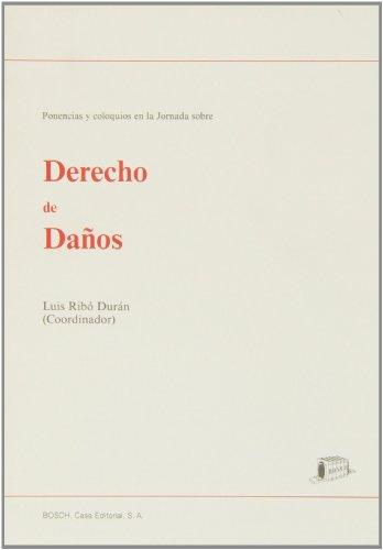 Derecho de daños: Ribó Durán, L.