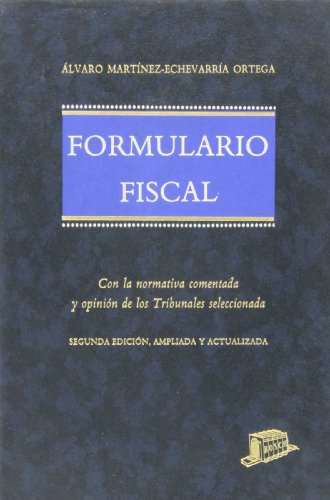 Formulario fiscal: Mart�nez Echevarr�a Ortega, A.