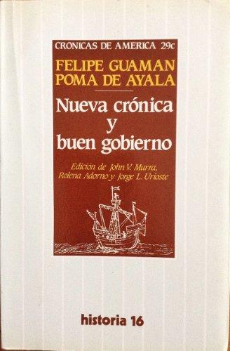 9788476790540: Nueva crónica y buen gobierno (Crónicas de América) (Spanish Edition)