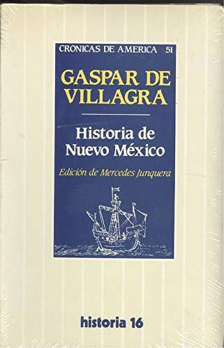9788476791349: Historia de Nuevo México (Crónicas de América) (Spanish Edition)