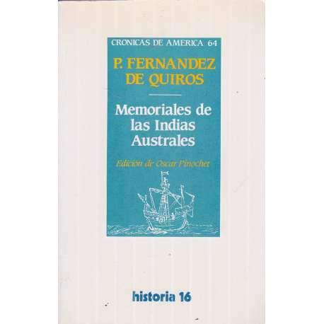9788476791981: Memoriales de las Indias Australes (Crónicas de América) (Spanish Edition)