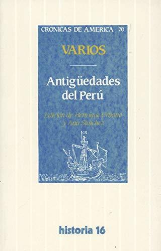 9788476792360: Antigüedades del Perú
